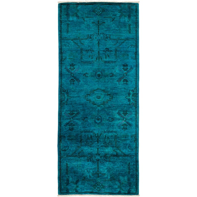 """Vibrance Hand Knotted Runner Rug - 2' 6"""" x 6' 0"""" - Image 4 of 4"""