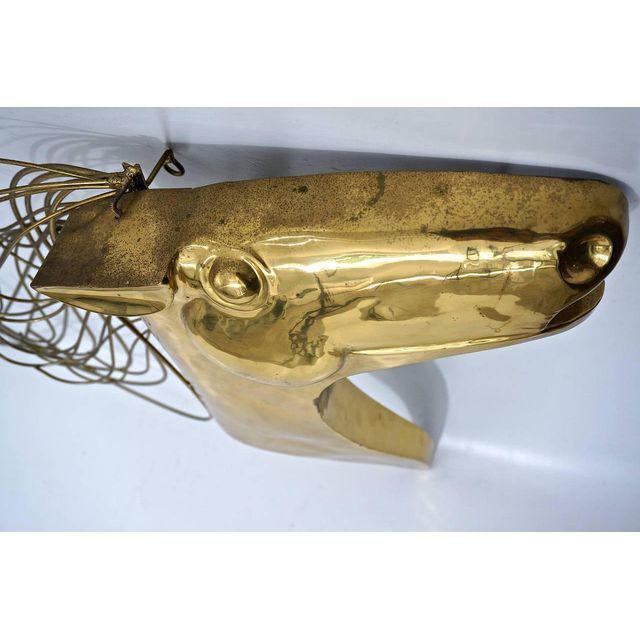 Curtis Jere Artisan House Brass Horse Head Wall Sculpture | Chairish