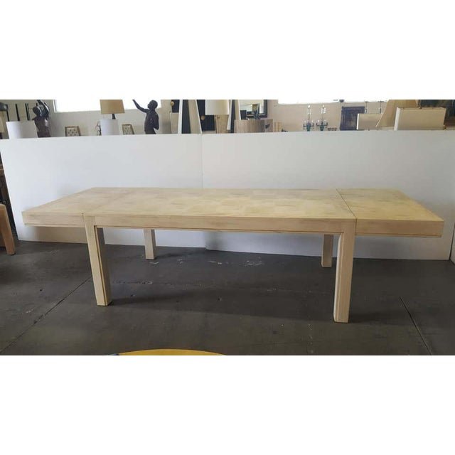 Mid 20th Century Restored Parsons Dining Table For Sale - Image 12 of 12