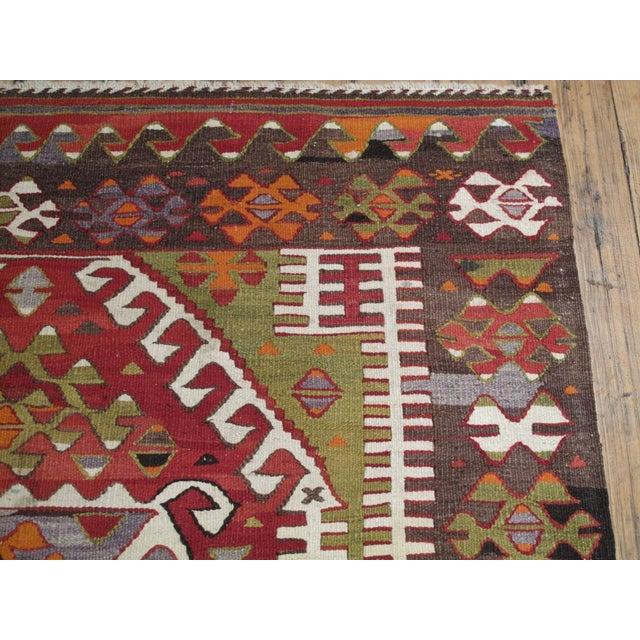 Sivrihisar Kilim For Sale In New York - Image 6 of 7