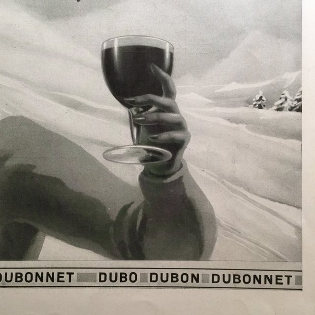 1938 French Dubonnet Ad - Image 4 of 8