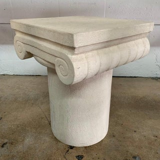 1980s Italian Kreiss Collection Ionic Column Table Preview