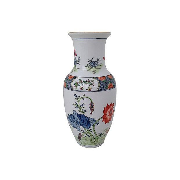 Chinoiserie Porcelain Vase - Image 1 of 5