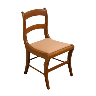 1960's Duncan Phyfe Style Dining / Side Chair For Sale