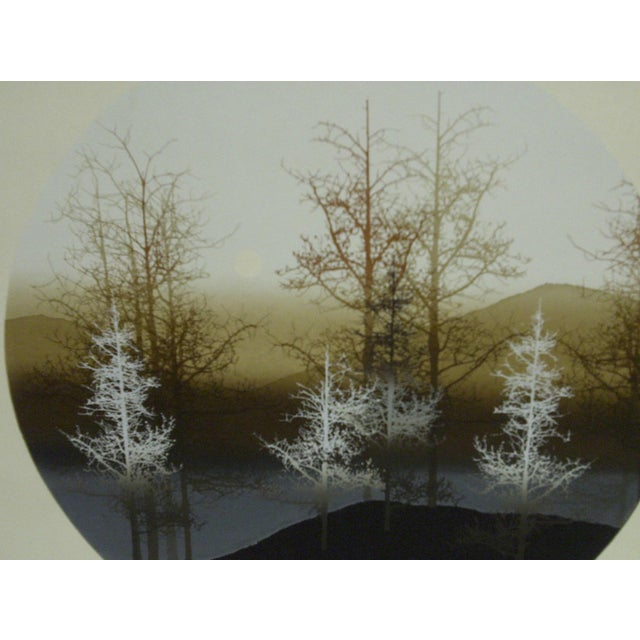 "Virgil Thrasher ""Tree Slope"" Limited Edition Print For Sale - Image 4 of 6"
