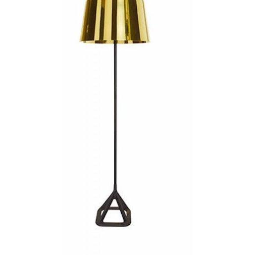 2000 - 2009 Tom Dixon Base Floor Light - Polished Brass For Sale - Image 5 of 5
