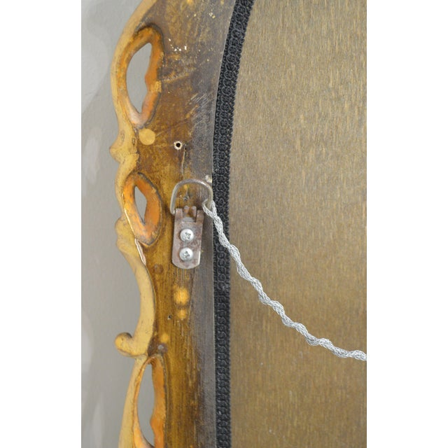 Dauphine Harrison & Gil Gold Gilt Wood Rococo Carved Wall Mirror For Sale In Philadelphia - Image 6 of 13