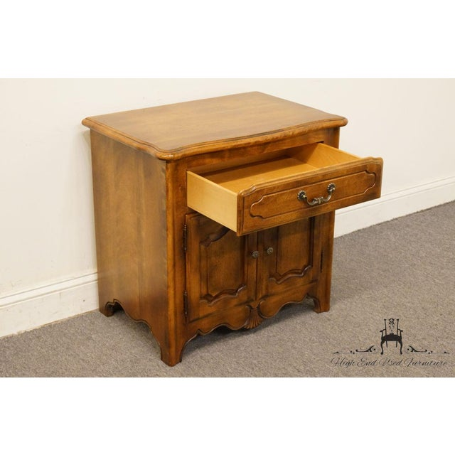 """Wood Ethan Allen Country French Collection 26"""" Nightstand 26-5316 - Finish 236 For Sale - Image 7 of 13"""