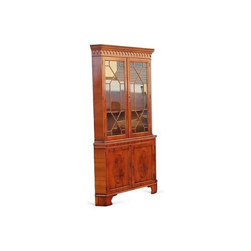 Spectacular Highly Detailed and Superb Wood Work on this Mid Century Modern Curio Cabinet. Notice the detail, exotic...