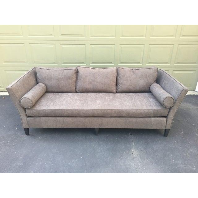 Parzinger Style Flare Arm Shelter Sofa - Image 3 of 11