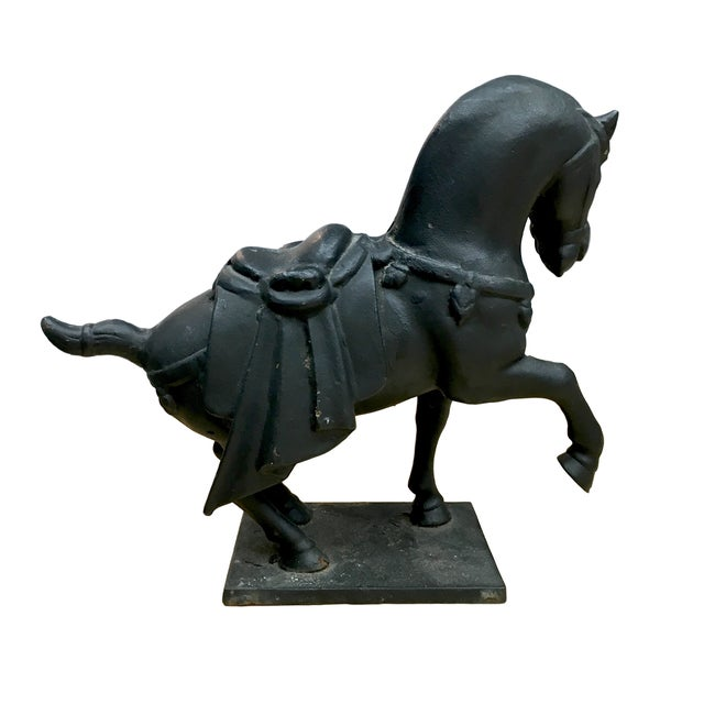 Cast Iron Japanese Horse - Image 2 of 4