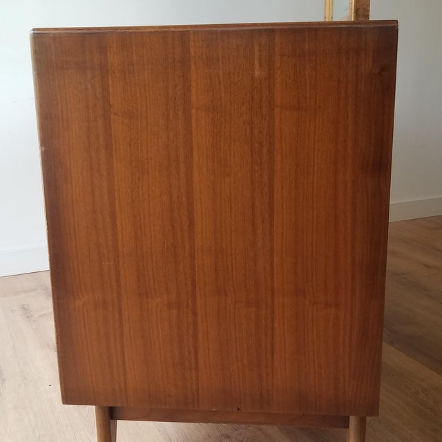 1960s 1960s Lane Perception Four Drawer Dresser With Mirror For Sale - Image 5 of 13