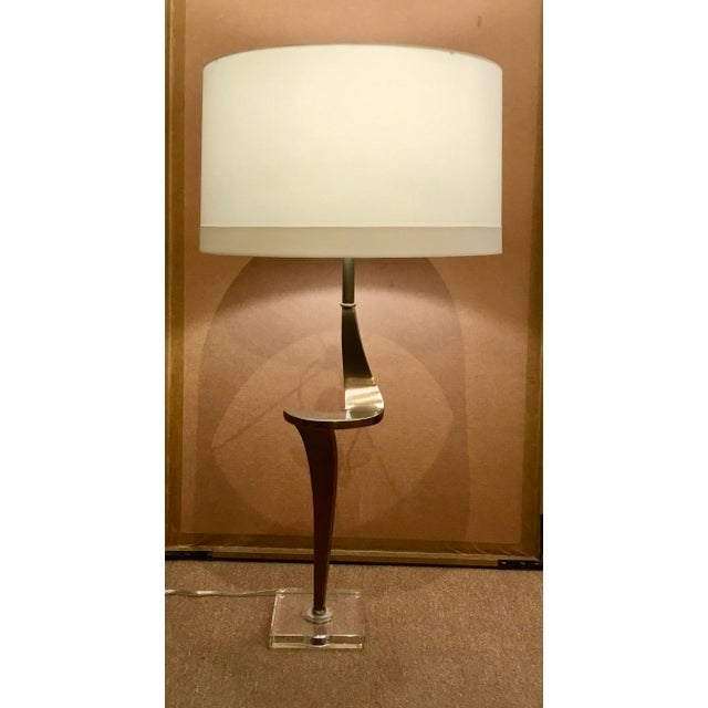 Contemporary Arteriors Home Brass Roosevelt Table Lamp For Sale In Atlanta - Image 6 of 8