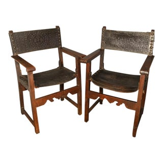 Baroque Armchairs - a Pair For Sale