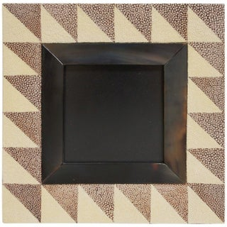 Shagreen and Horn Photo Frame by Fabio Ltd For Sale