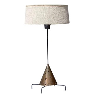 1950s Vintage California Craftsman Style Studio Lamp For Sale