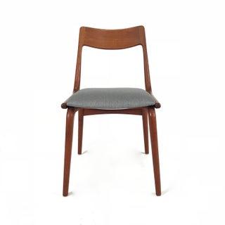 Vintage Erik Christensen for Slagelse Mobelfabrik Danish Teak Boomerang Chair Preview