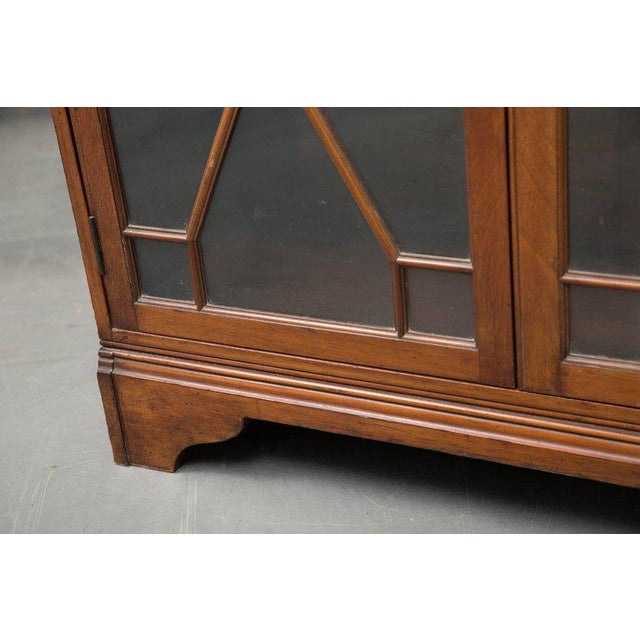 19th Century Dwarf English Bookcase For Sale In West Palm - Image 6 of 10