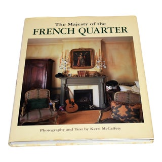 """The Majesty of the French Quarter"" Book For Sale"