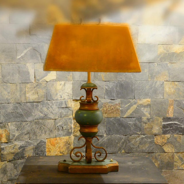Hollywood Regency Mexican Modernist Hollywood Regency Table Lamp For Sale - Image 3 of 5