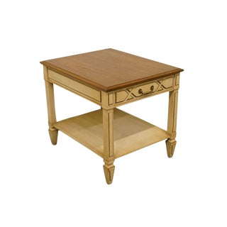 20th Century French Country Heritage End Table For Sale