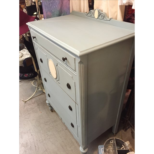 1930s Antique Distressed Dresser - Image 4 of 8