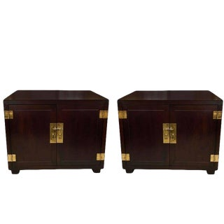 Pair of Henredon Cabinets For Sale