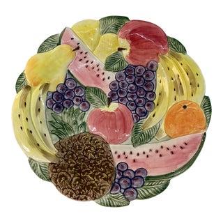 "Fitz & Floyd ""Calypso Fruit"" Platter For Sale"