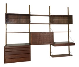 Image of Poul Cadovius Wall-Mounted Shelving
