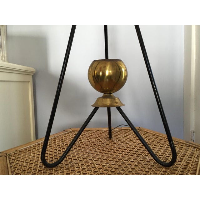 Gerald Thurston for Lightolier Hairpin Tripod Table Lamp - Image 4 of 7