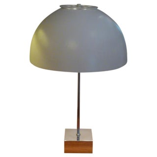 1960s Paul Mayen for Habitat Large Domed Table Lamp For Sale