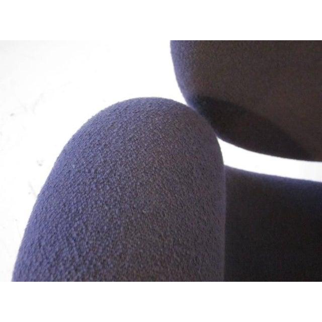 Pierre Paulin Pierre Paulin Op Art Sculptural Swiveling Armchair For Sale - Image 4 of 7