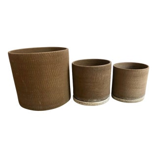 Gainey Sgraffito Pots - Set of 3