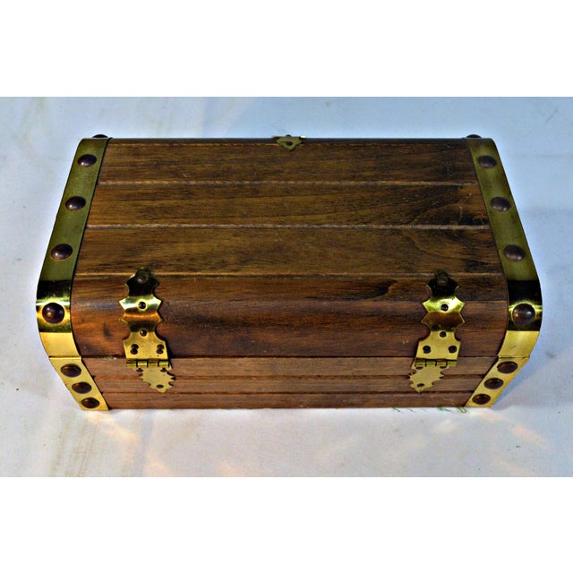 Japanese Wooden Jewelry Box - Image 10 of 10