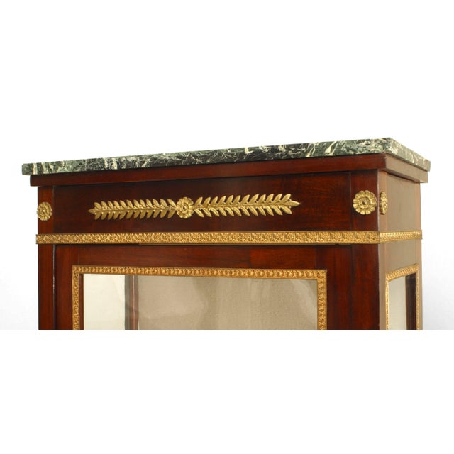 Empire French Empire Style Display/Vitrine Cabinet For Sale - Image 3 of 6