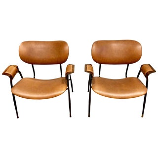 Midcentury Italian Chairs, Circa Late 1950s For Sale