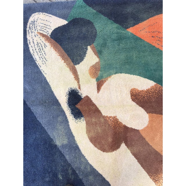 Mid-Century Modern Rene Magritte Woman 1923 by Ege Art Line 1988 For Sale - Image 3 of 7