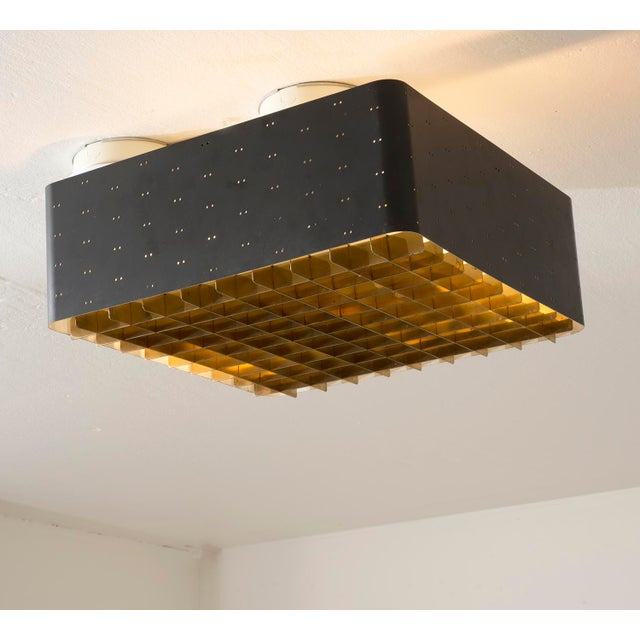 Paavo Tynell Model # 9068 Ceiling Lamp in Black, Finland, 1960s For Sale - Image 11 of 11
