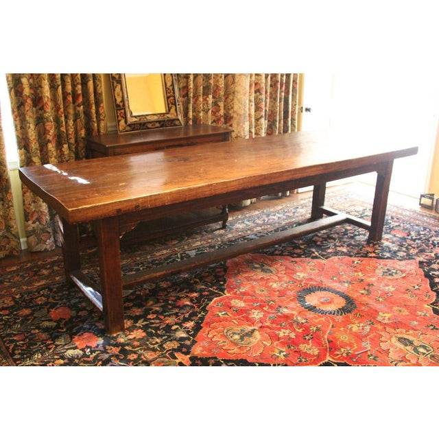 Tressle Dining Table - Image 4 of 7