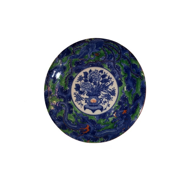 Early 19th Century Antique Early Chinese Plate For Sale - Image 5 of 7
