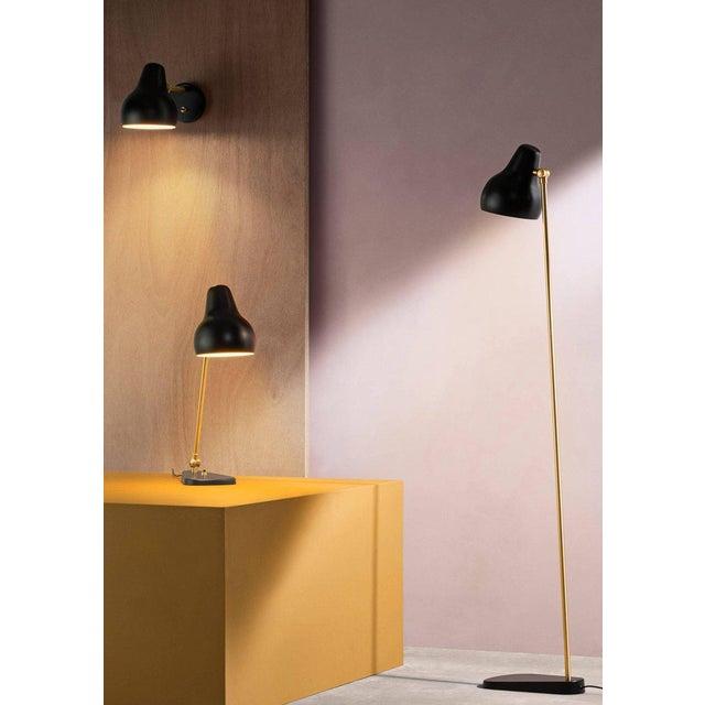 Louis Poulsen Vilhelm Lauritzen Black 'Radiohus' Table Lamps for Louis Poulsen For Sale - Image 4 of 8