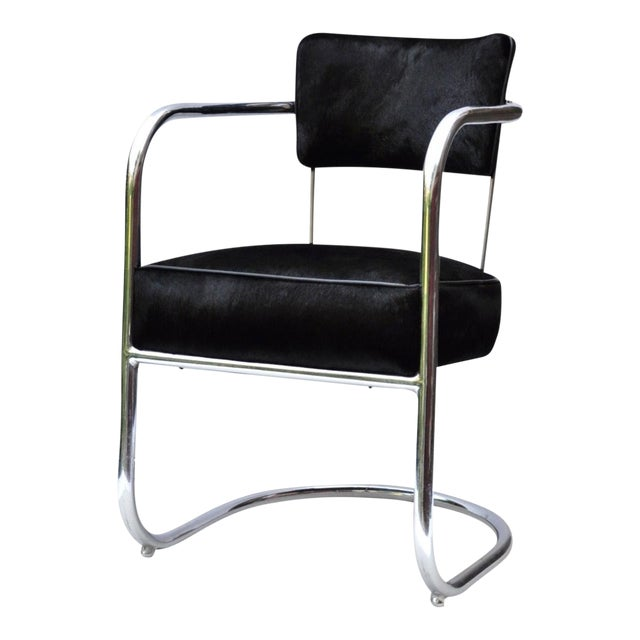 Armchair by Kem Weber for Lloyd Manufacturing 1930s For Sale