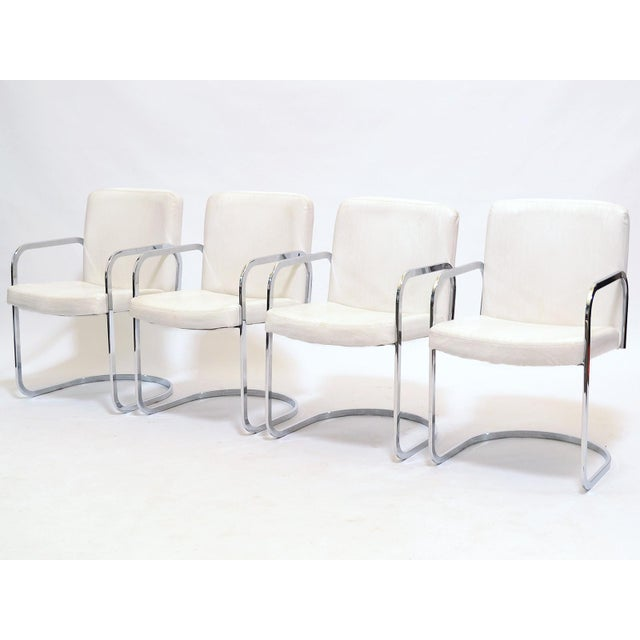 Set of four dining chairs by Design Institute of America - Image 2 of 11