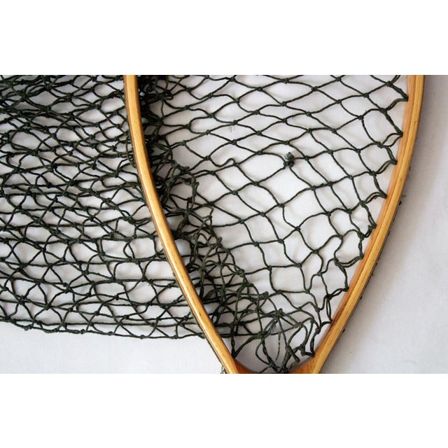 Americana Vintage 1950s Fishing Net For Sale - Image 3 of 7
