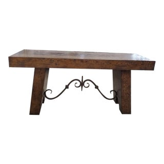 Century Furniture Marbella Vintners Console For Sale