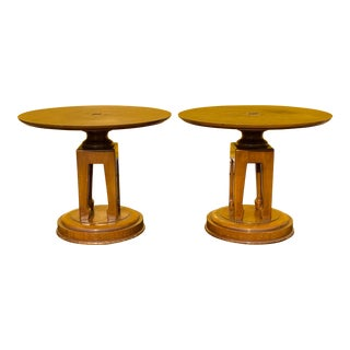 1950s James Mont Side Tables - a Pair For Sale