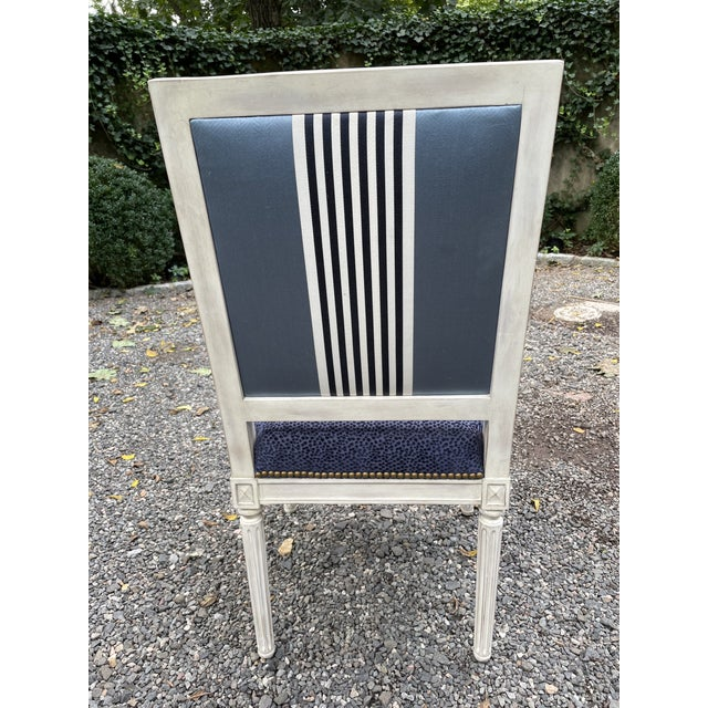 Set of Seven Dining Chairs by Bernhardt For Sale - Image 10 of 13
