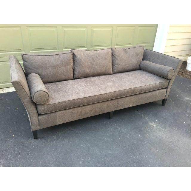 Parzinger Style Flare Arm Shelter Sofa - Image 6 of 11