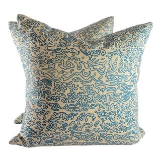 "20"" X 20"" Modra Studio Down Pillows For Sale"