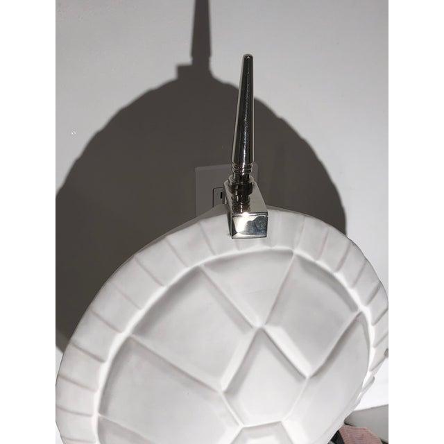 2010s Jonathan Adler Tortoise Shell Lamp For Sale - Image 5 of 6